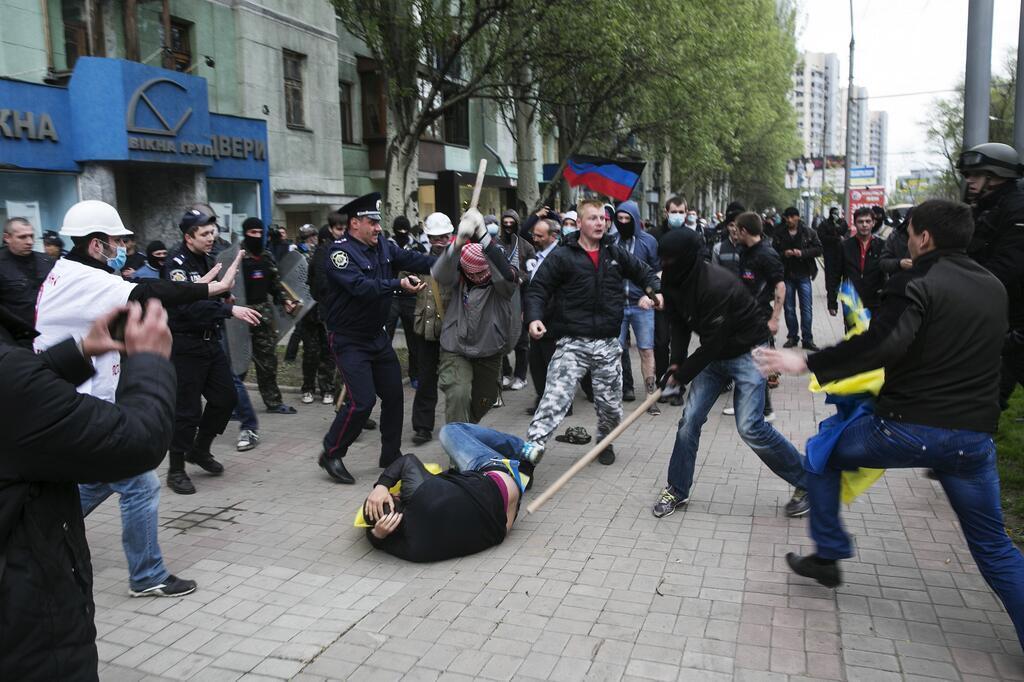 Украинские воины освободили Николаевку. 50 боевиков сдались, - Аваков - Цензор.НЕТ 4081