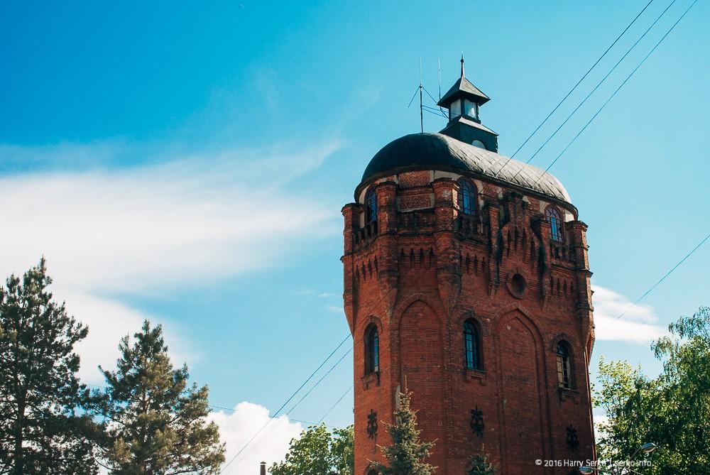 Водонапірна вежа, Житомир
