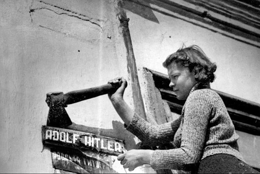 1944. Смена названий улиц в Николаеве
